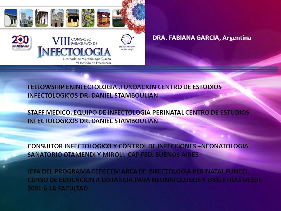 DRA. FABIANA GARCIA, Argentina