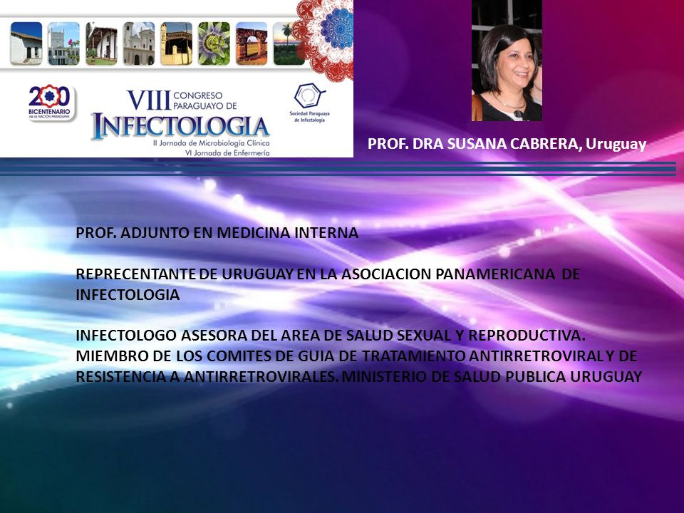 PROF. DRA SUSANA CABRERA, Uruguay