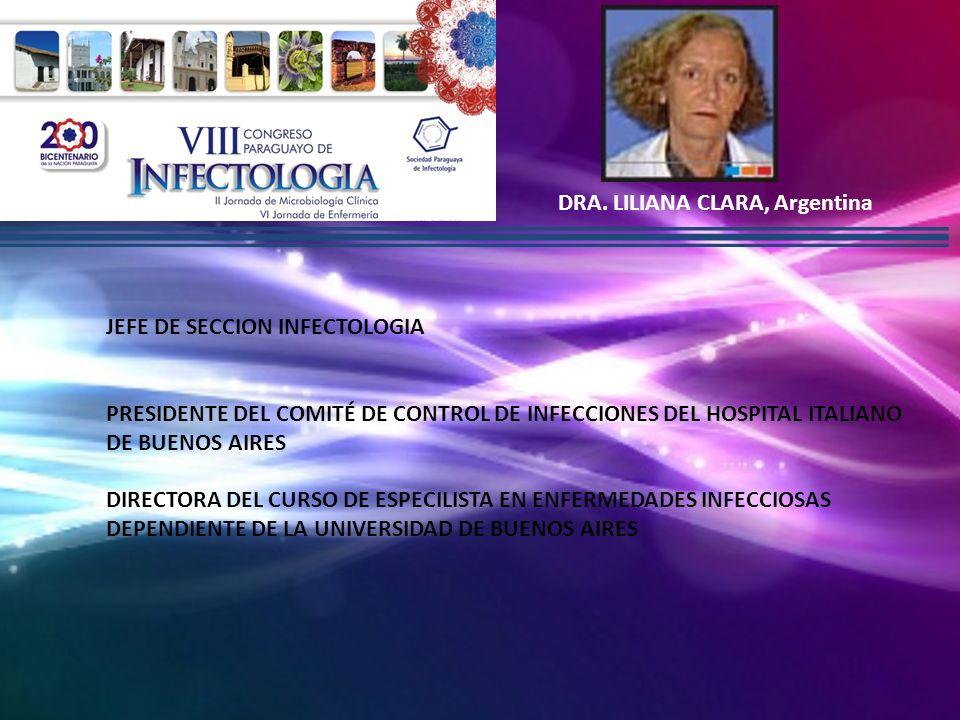 DRA. LILIANA CLARA, Argentina