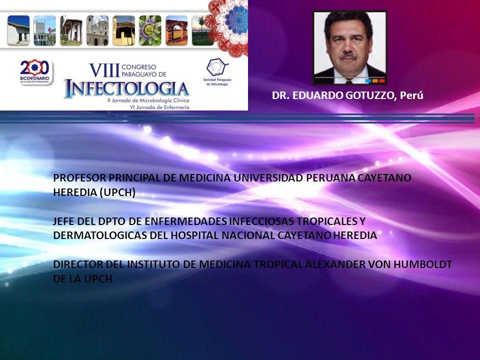 DR. EDUARDO GOTUZZO, Perú