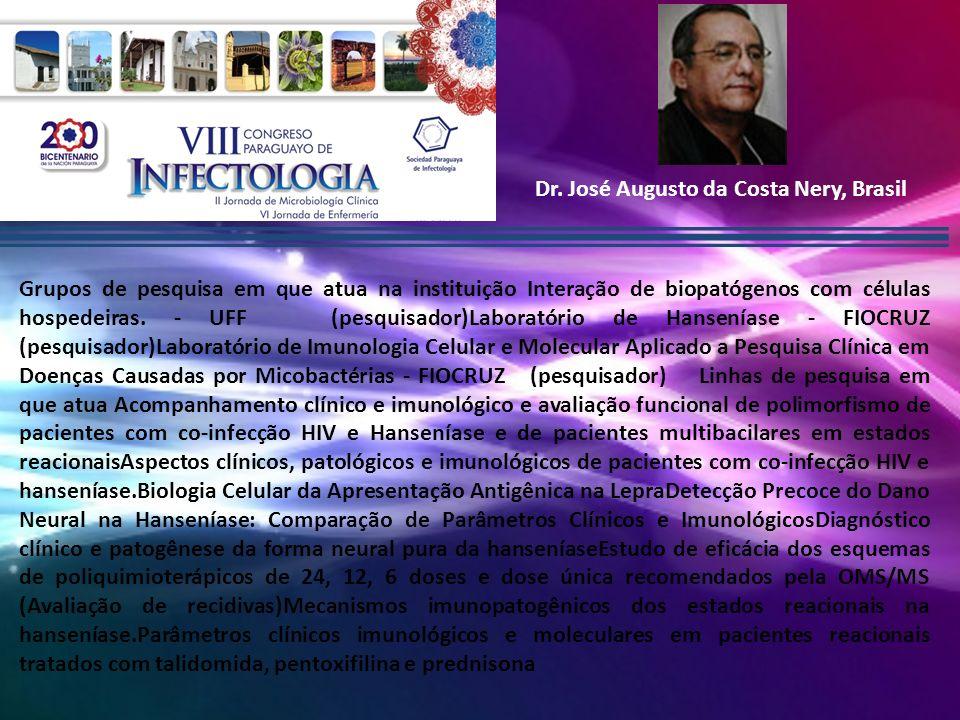 Dr. José Augusto da Costa Nery, Brasil