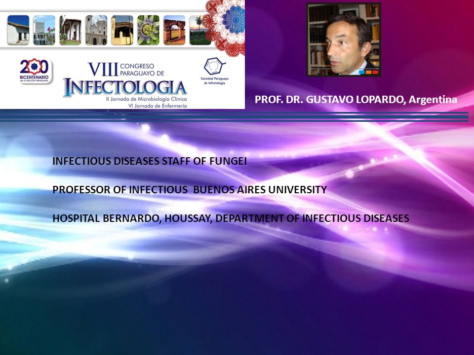 PROF. DR. GUSTAVO LOPARDO, Argentina