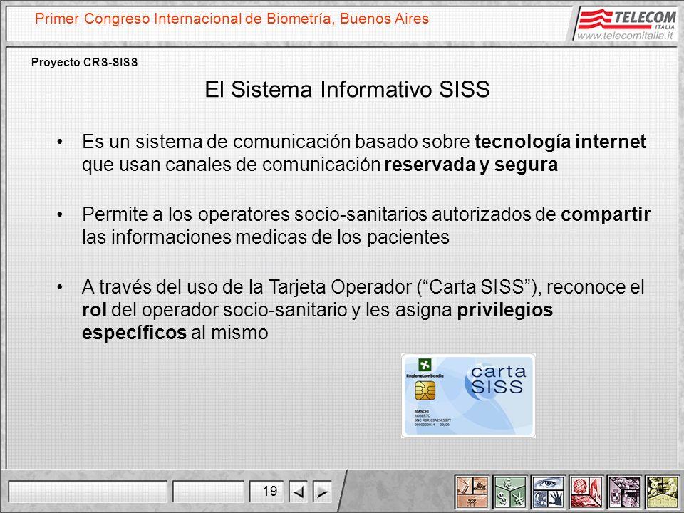 El Sistema Informativo SISS