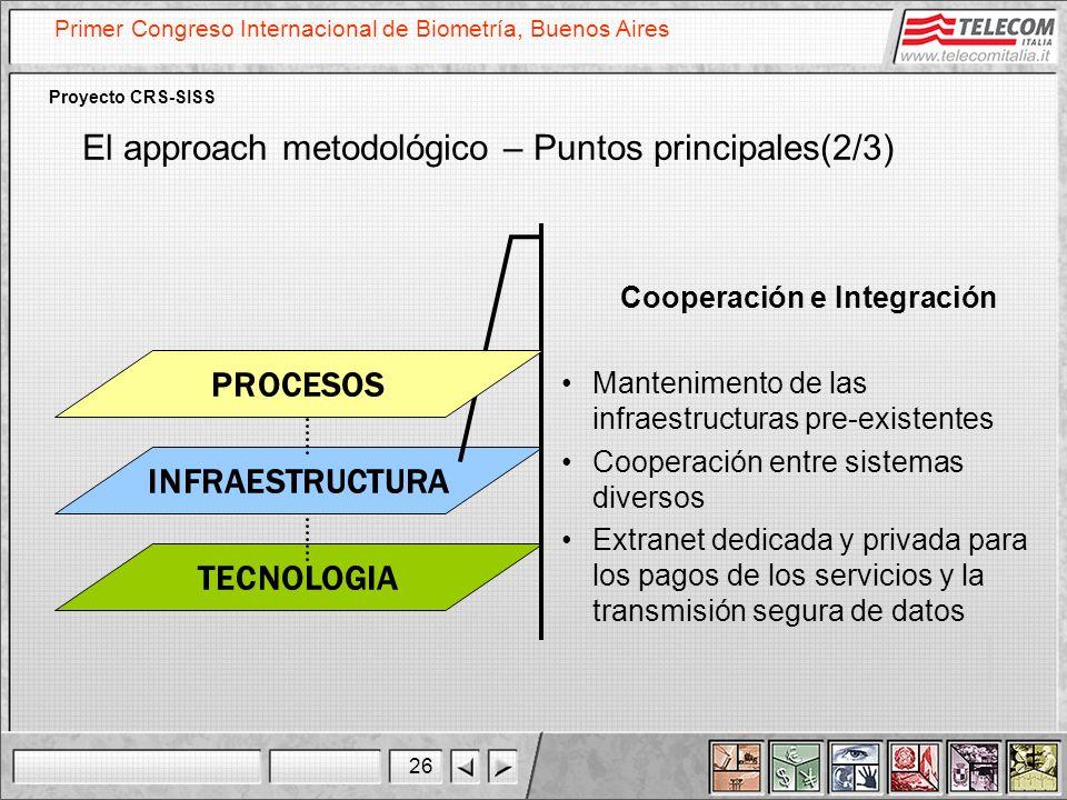 Cooperación e Integración