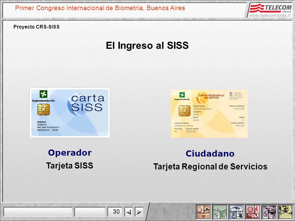 Tarjeta Regional de Servicios