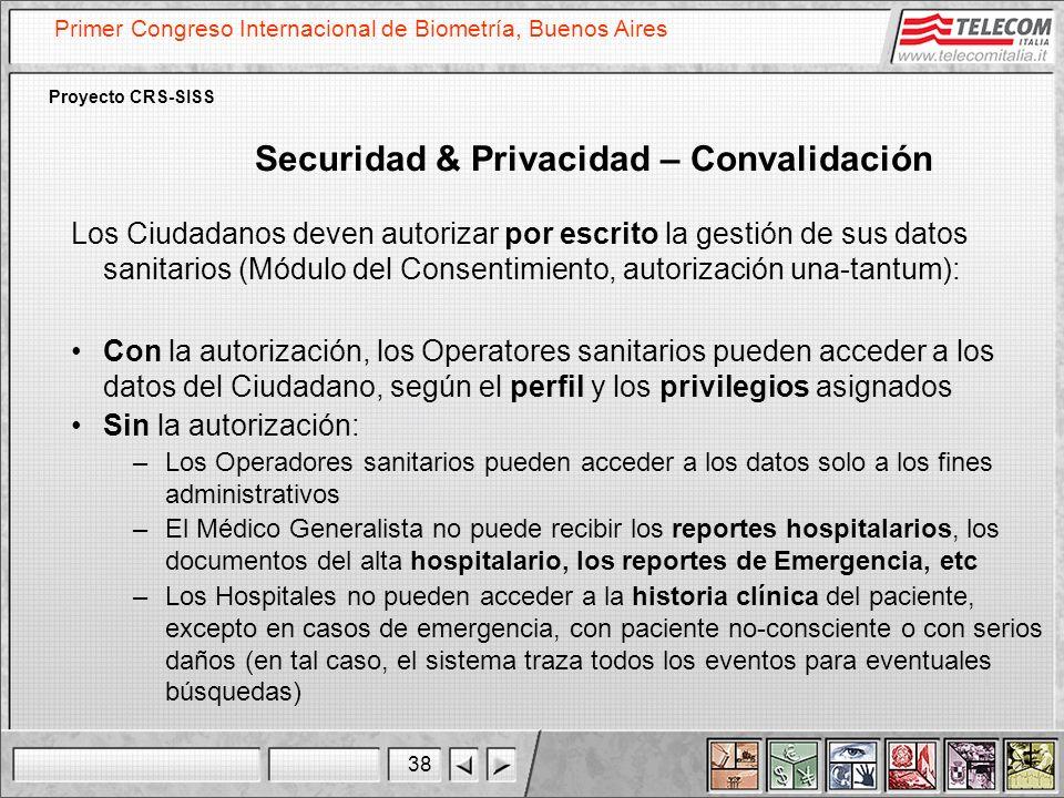 Securidad & Privacidad – Convalidación