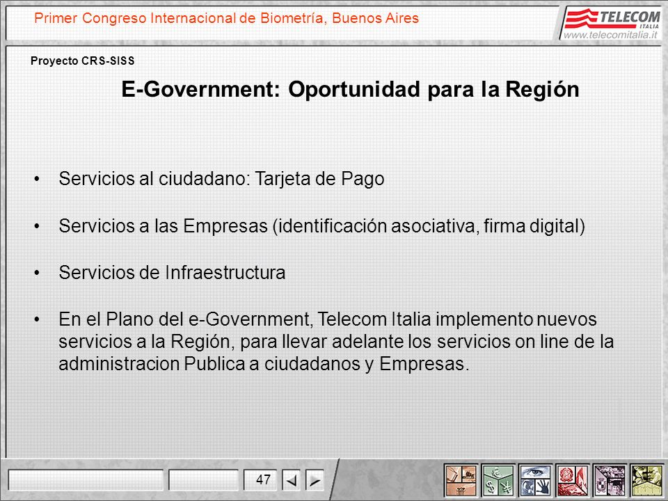 E-Government: Oportunidad para la Región