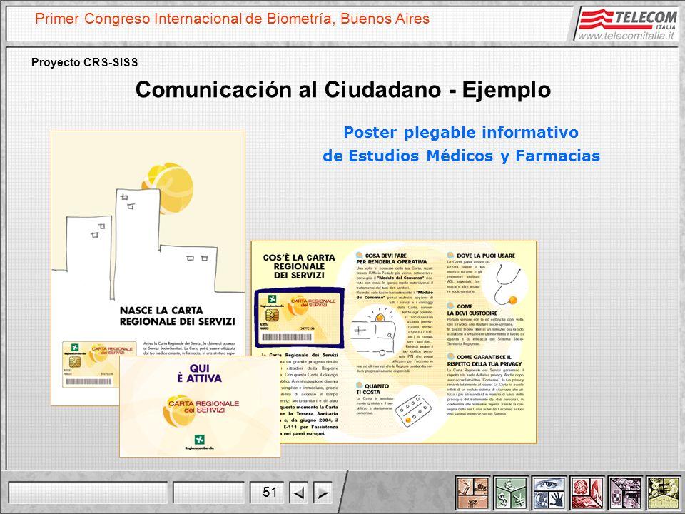 Comunicación al Ciudadano - Ejemplo