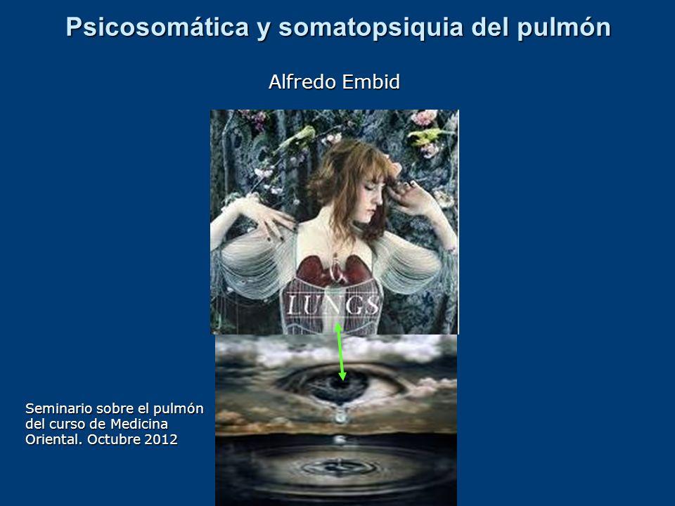 Psicosomática y somatopsiquia del pulmón