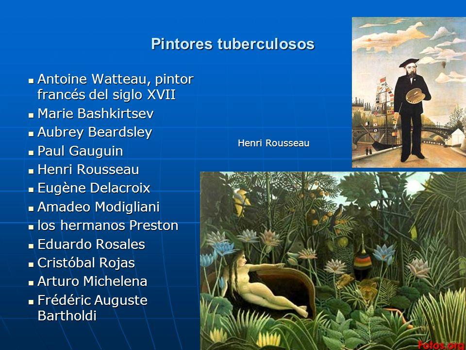 Pintores tuberculosos