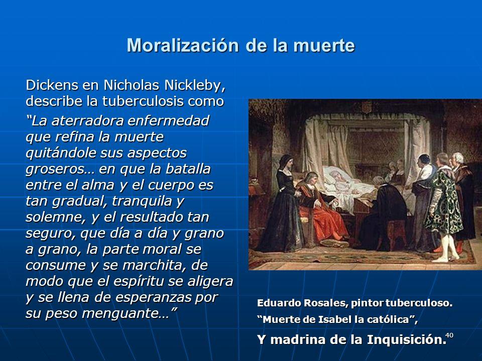 Moralización de la muerte
