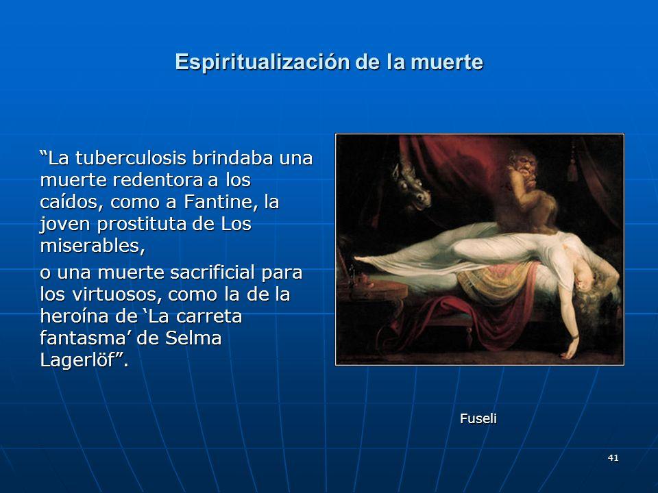 Espiritualización de la muerte