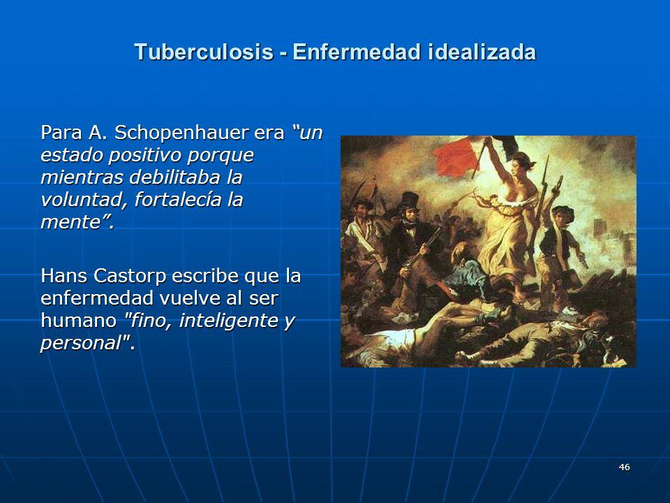 Tuberculosis - Enfermedad idealizada