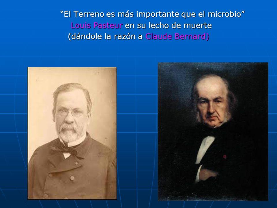 Louis Pasteur en su lecho de muerte