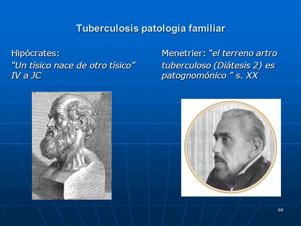 Tuberculosis patología familiar