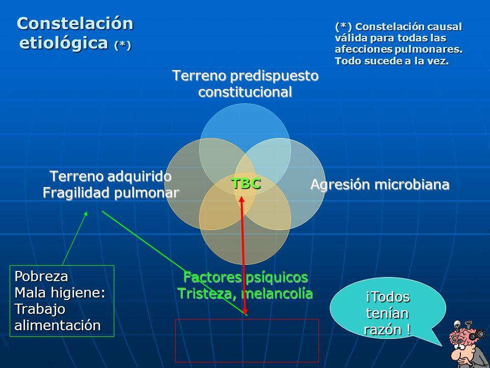 Constelación etiológica (*)