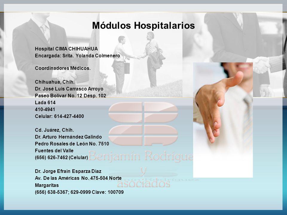 Módulos Hospitalarios