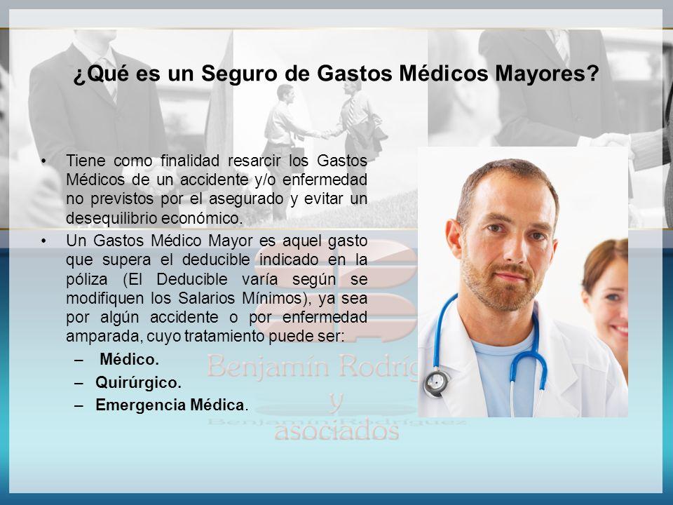 ¿Qué es un Seguro de Gastos Médicos Mayores