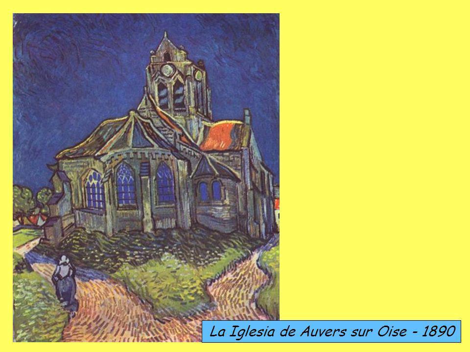 La Iglesia de Auvers sur Oise - 1890