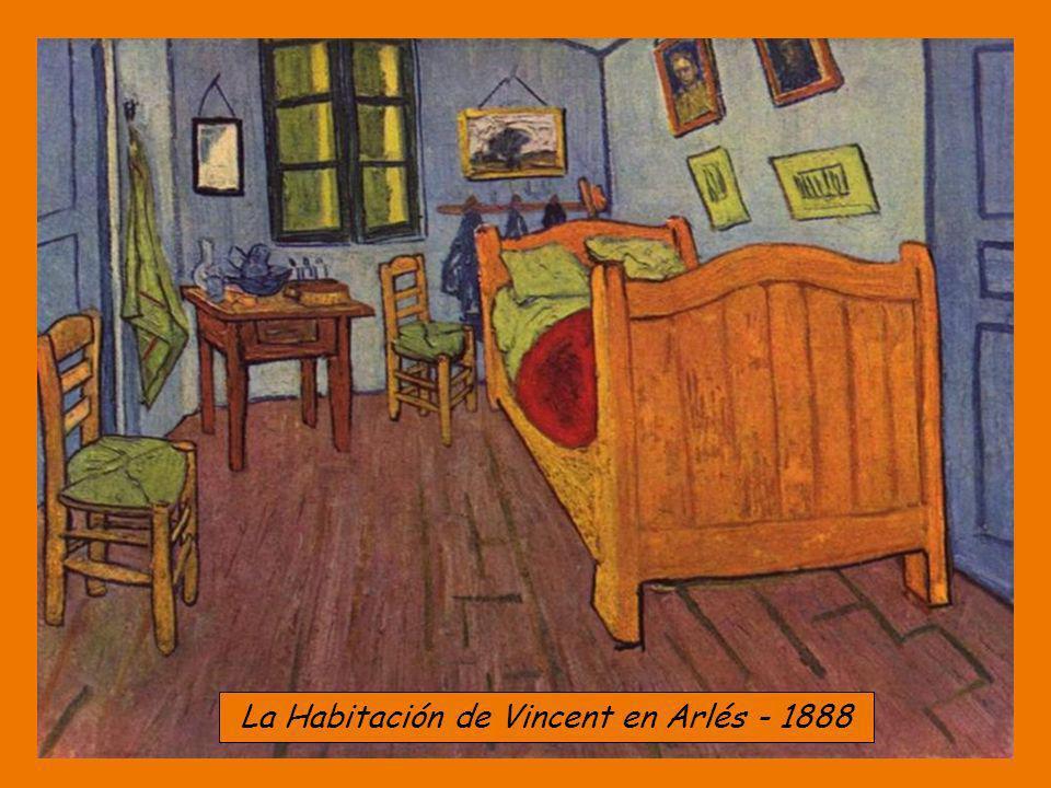 La Habitación de Vincent en Arlés - 1888