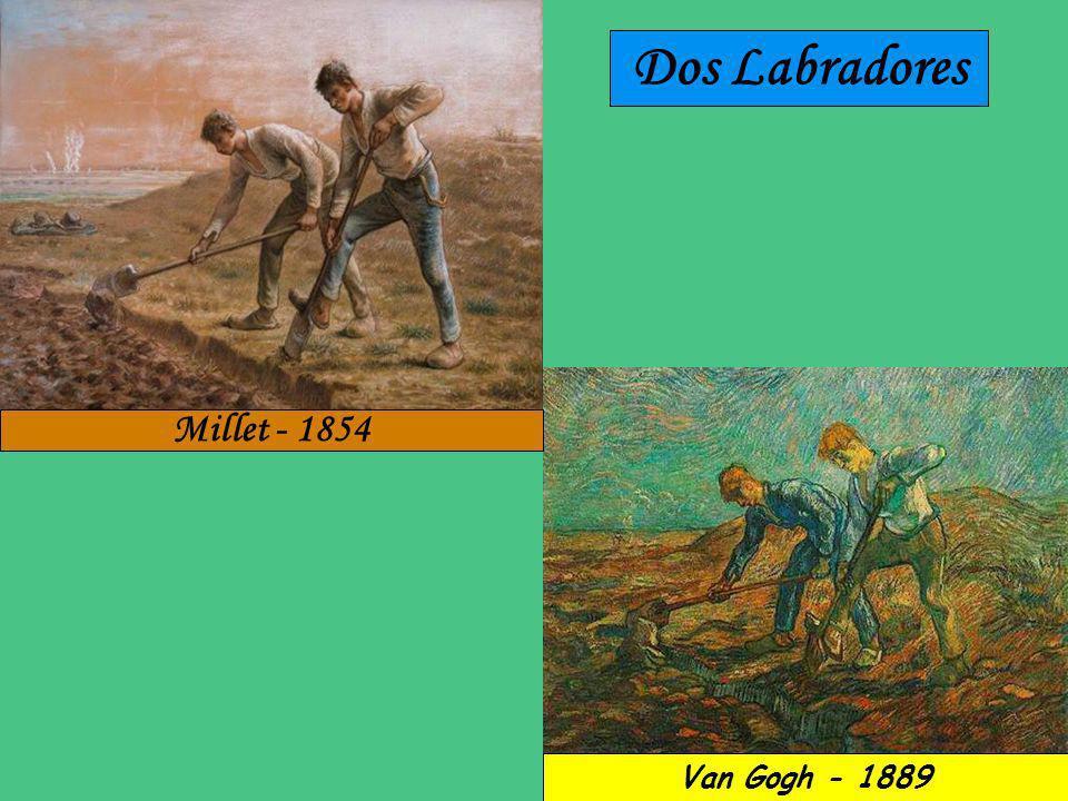 Dos Labradores Millet - 1854 Van Gogh - 1889