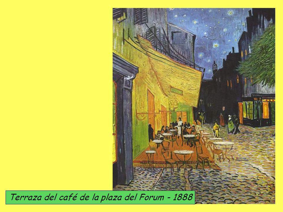 Terraza del café de la plaza del Forum - 1888