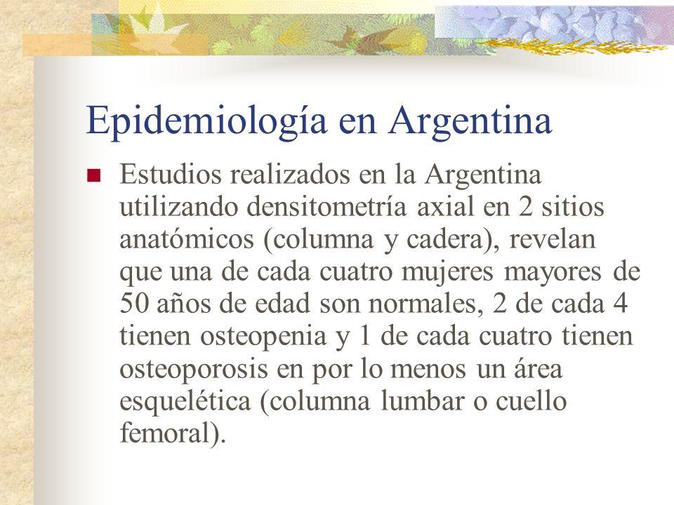 Epidemiología en Argentina