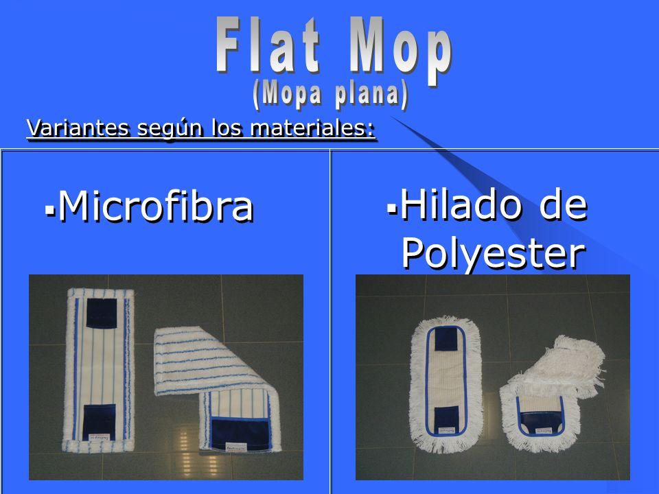 Flat Mop Microfibra Hilado de Polyester (Mopa plana)