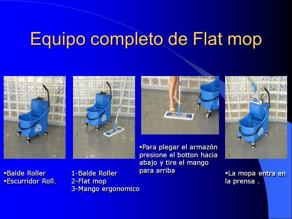 Equipo completo de Flat mop