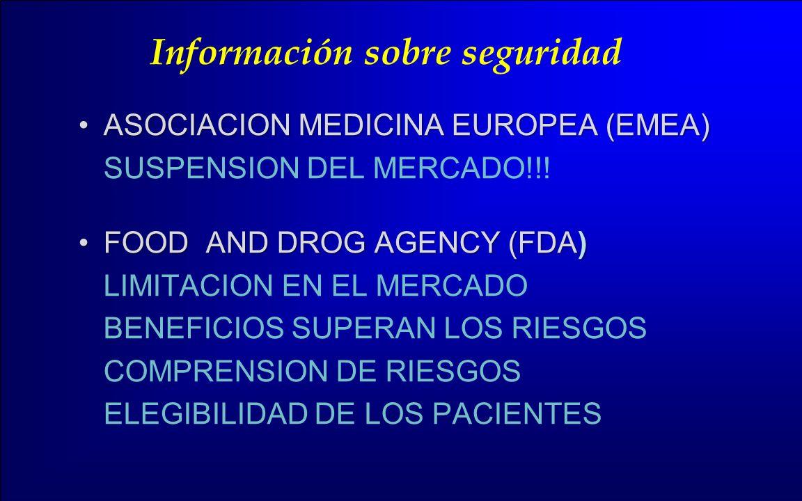 Información sobre seguridad
