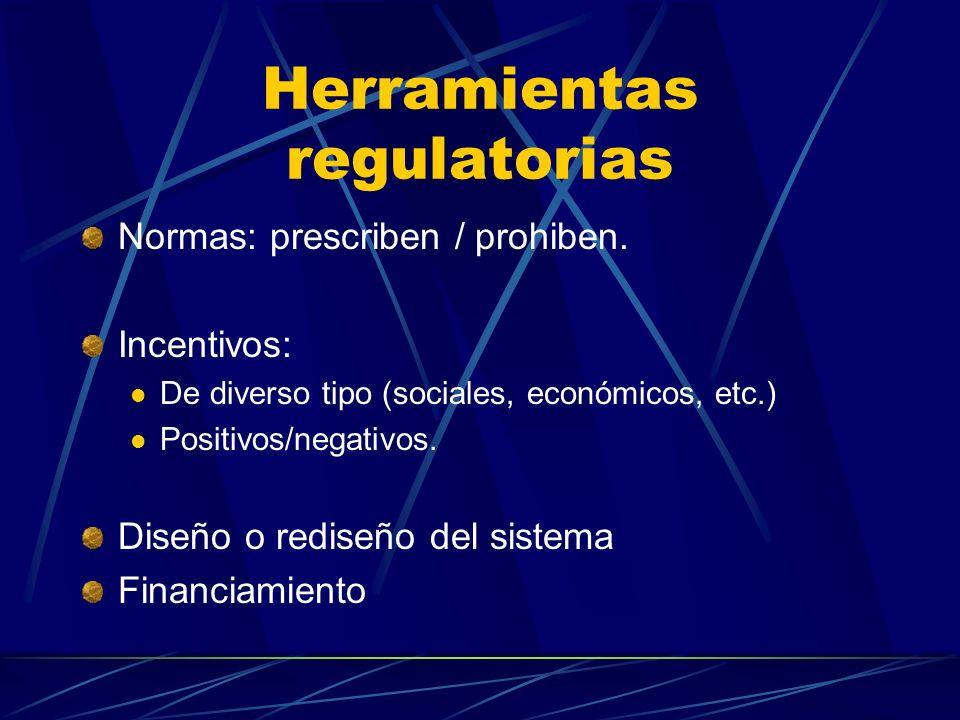 Herramientas regulatorias