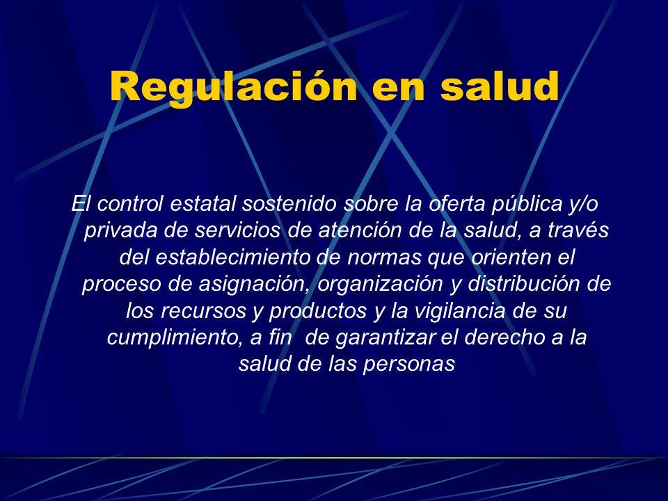 Regulación en salud