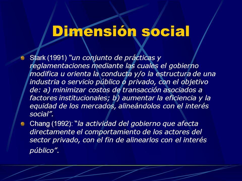 Dimensión social