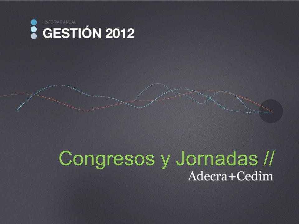 Congresos y Jornadas //