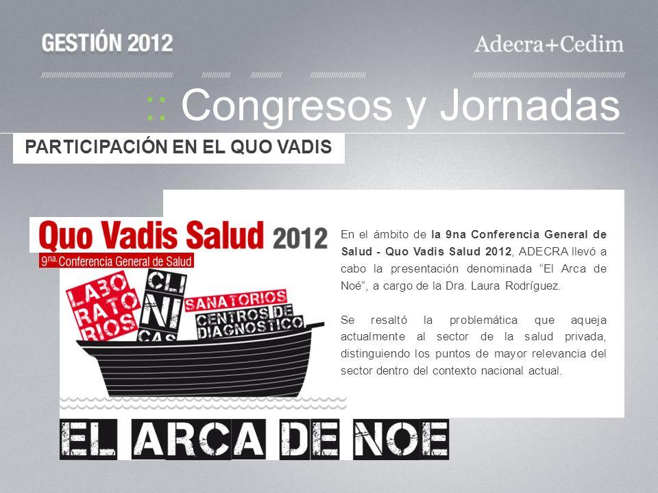 :: Congresos y Jornadas