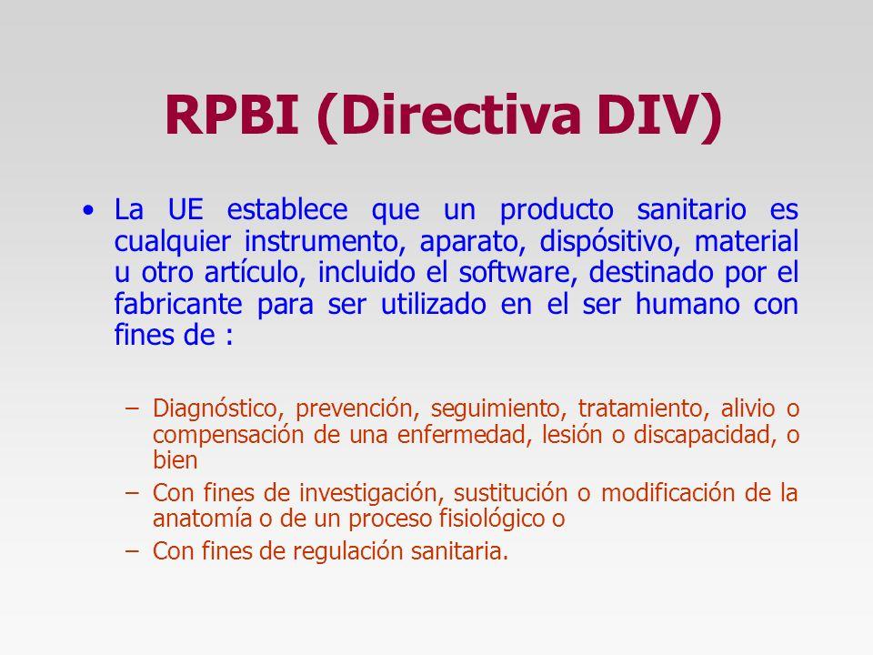 RPBI (Directiva DIV)