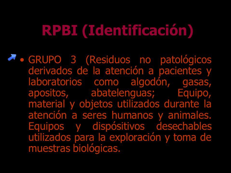 RPBI (Identificación)