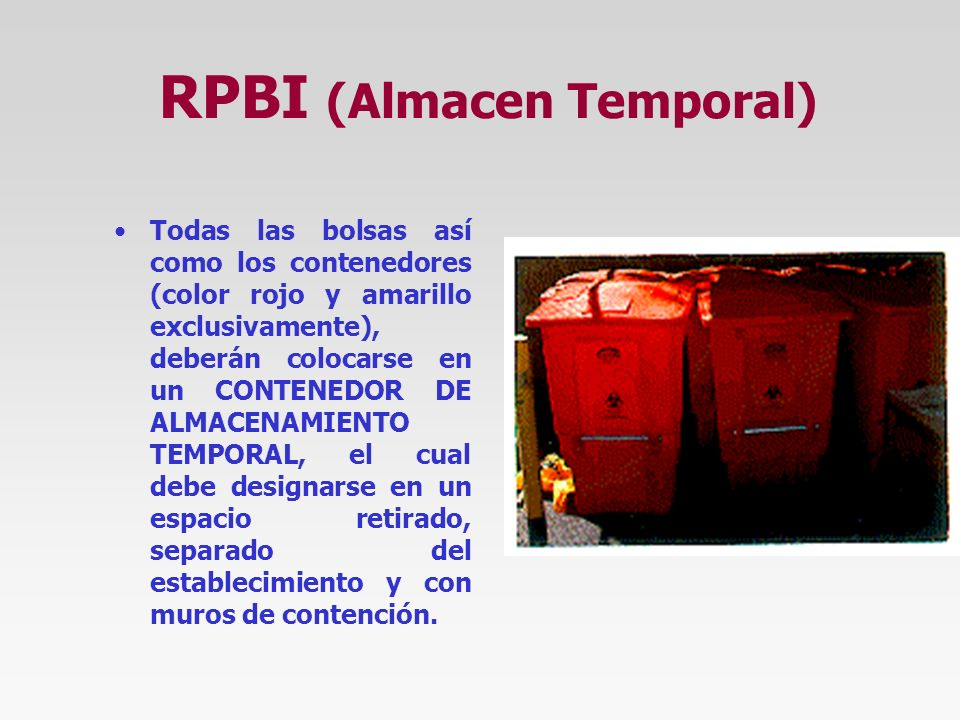 RPBI (Almacen Temporal)