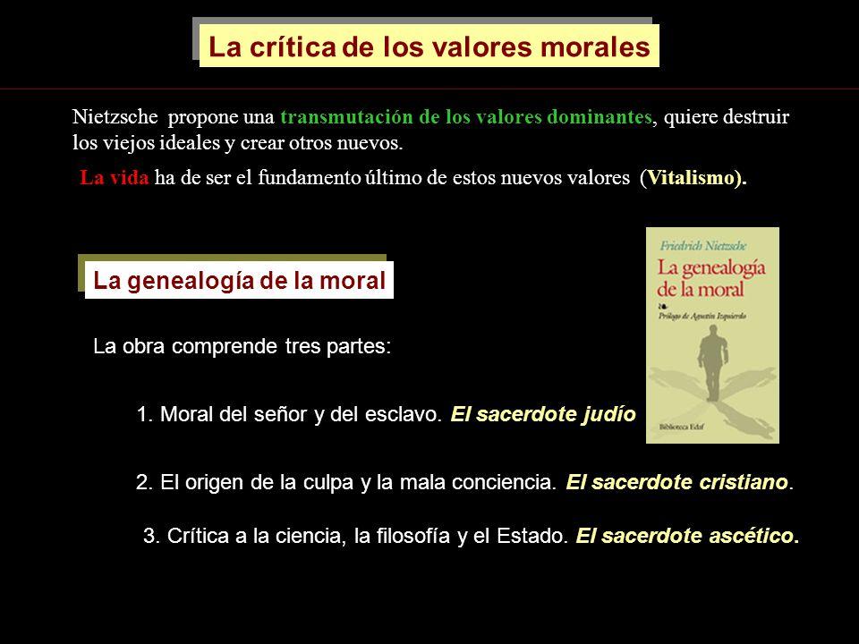 La crítica de los valores morales