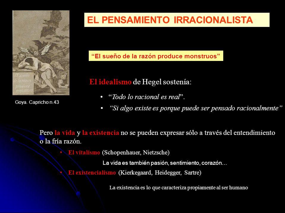 EL PENSAMIENTO IRRACIONALISTA