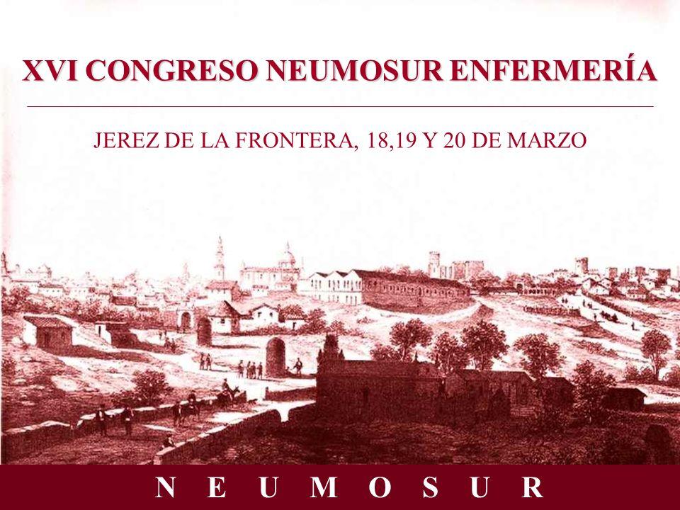XVI CONGRESO NEUMOSUR ENFERMERÍA