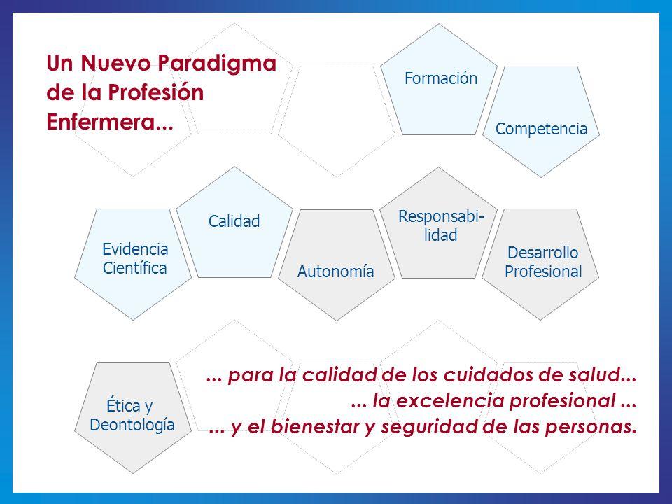 Un Nuevo Paradigma de la Profesión Enfermera...