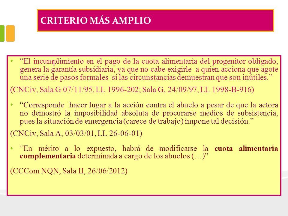 CRITERIO MÁS AMPLIO