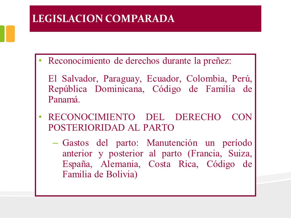 LEGISLACION COMPARADA