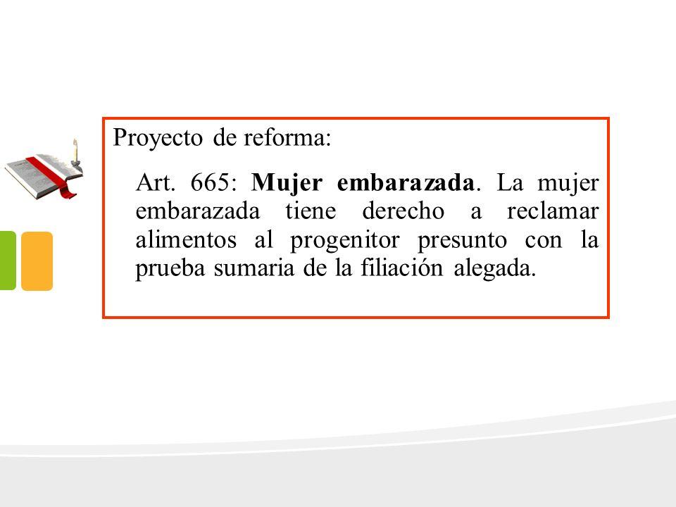 Proyecto de reforma: