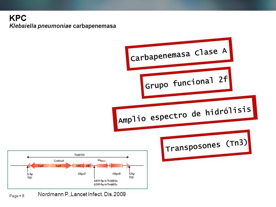 KPC Klebsiella pneumoniae carbapenemasa