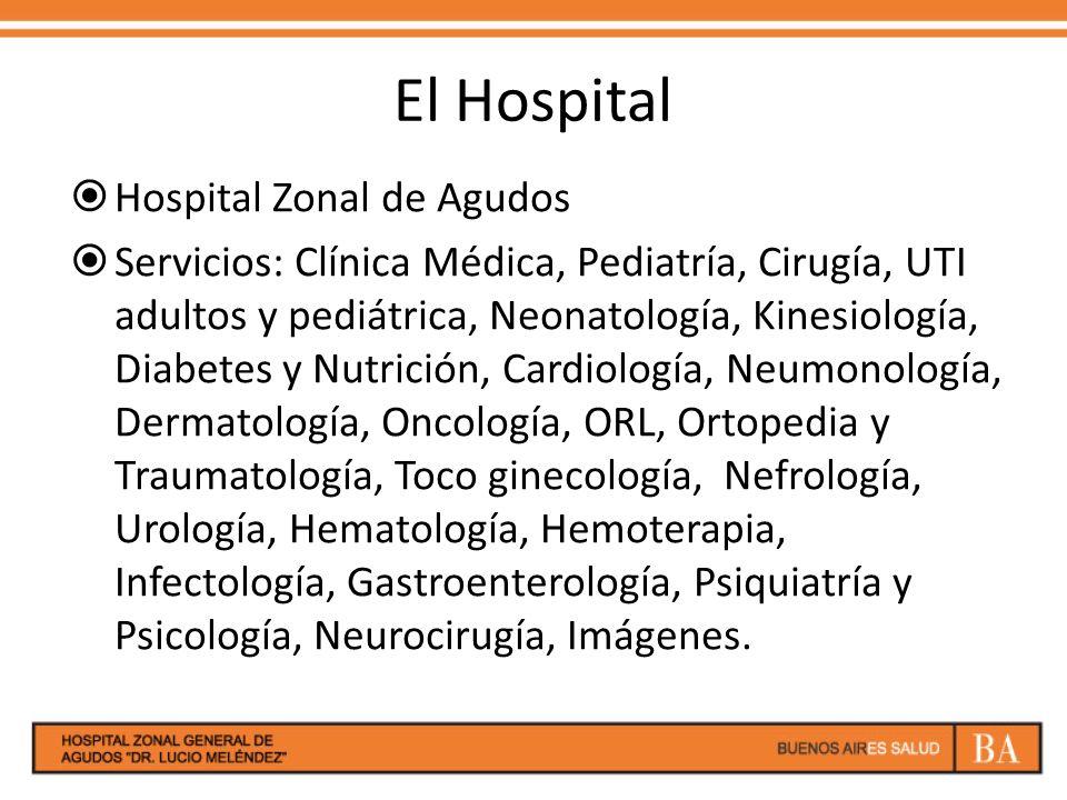 El Hospital Hospital Zonal de Agudos