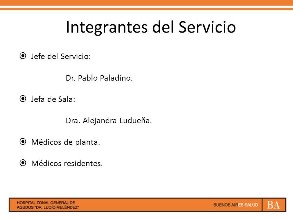 Integrantes del Servicio