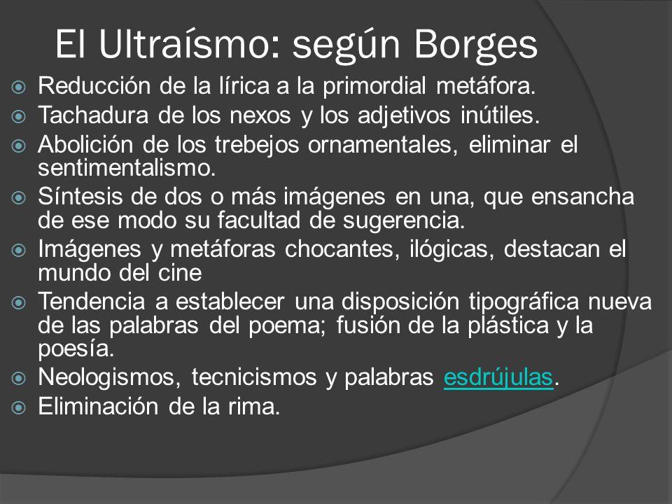 El Ultraísmo: según Borges
