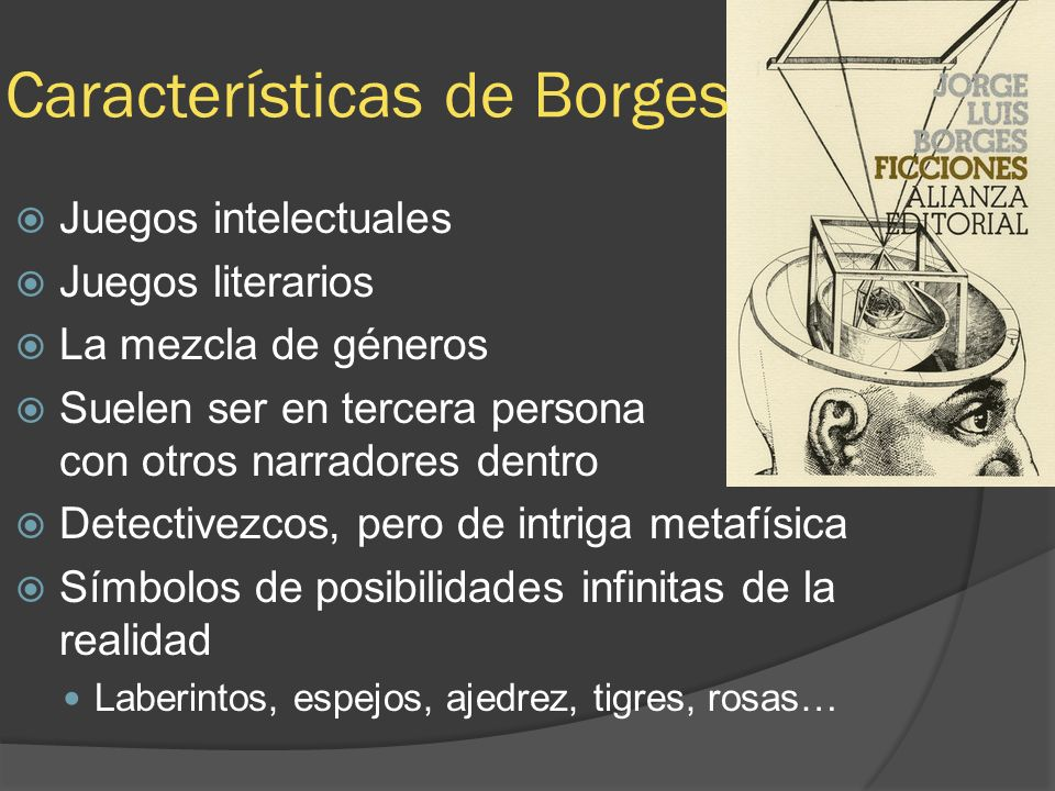 Características de Borges